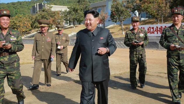 Nordkoreas Diktator Kim Jong Un (Bild: APA/EPA/Rodong Sinmun)