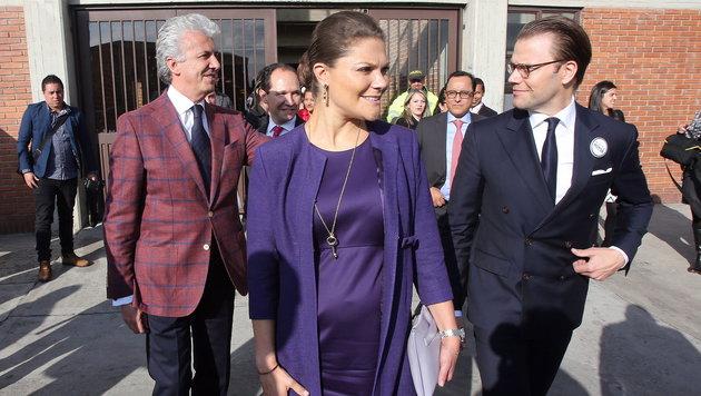 Kronprinzessin Victoria von Schweden (Bild: APA/EPA/Mauricio Dueñas Castañeda)