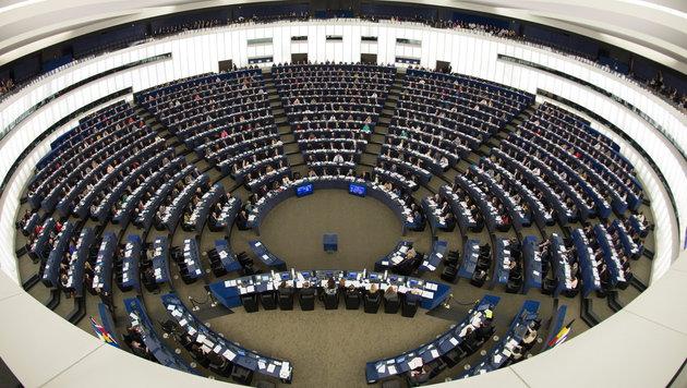 EU-Parlament: Wozu sind 14 Vizepräsidenten nötig? (Bild: APA/EPA/Patrick Seeger)