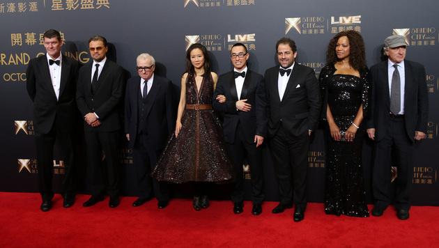 DiCaprio und De Niro eröffneten Mega-Casino (Bild: AP)