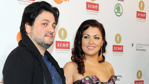 Yusif Eyvazov und Anna Netrebko (Bild: APA/EPA/URSULADUEREN)