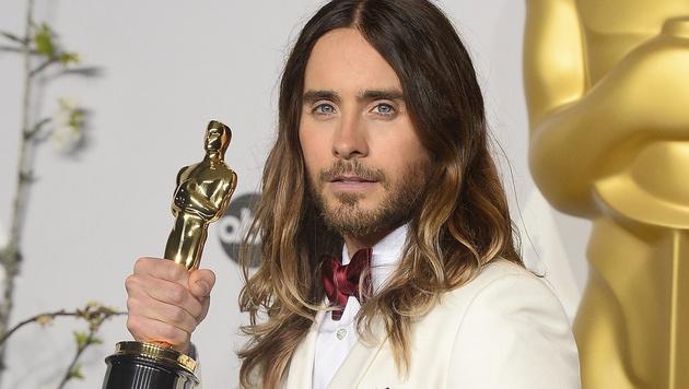 """Für seine Rolle in """"Dallas Buyers Club"""" gewann Jared Leto einen Oscar. (Bild: APA/EPA/PAUL BUCK)"""