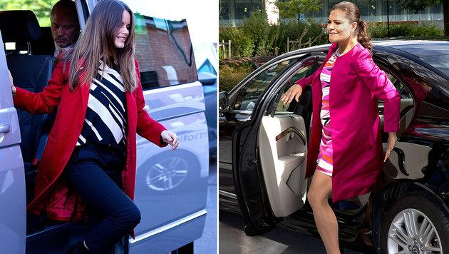 Victoria und Sofia: Babyglück im Doppelpack (Bild: Viennareport)