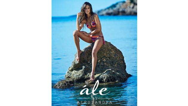 Inspirieren ließ sich Alessandra Ambrosio von den Bikinis in ihrer Heimat. (Bild: instagram.com/alessandraambrosio)