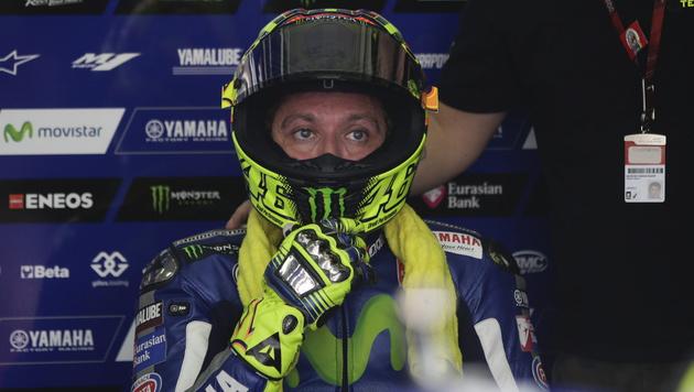 Rossi bei Finale in Valencia definitiv am Start (Bild: APA/EPA/FAZRY ISMAIL)