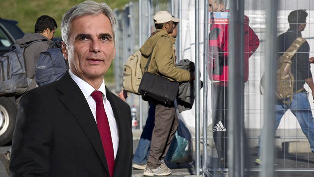 """""""In dieser Krise hilft kein Zaun um Österreich"""" (Bild: AFP, APA/ERWIN SCHERIAU)"""