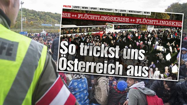 """Minister legt nach: """"Wien muss Verhalten ändern!"""" (Bild: APA/ERWIN SCHERIAU, bild.de)"""