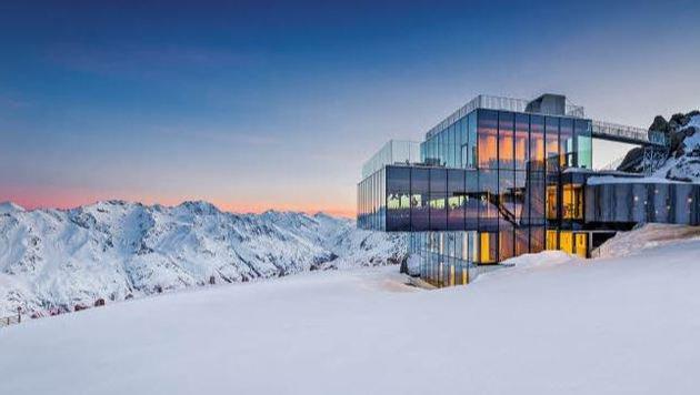 """Das """"ice Q"""" auf 3000 Metern Seehöhe. (Bild: Hotel Bergland)"""