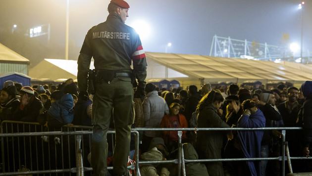 Erneut Prügelei in Spielfeld: Polizist verletzt (Bild: APA/ERWIN SCHERIAU)