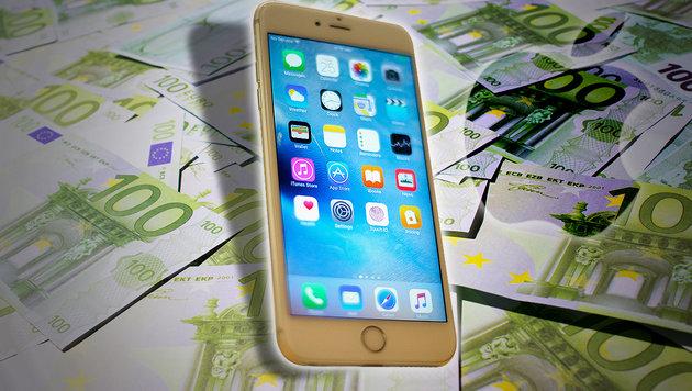 iPhone beschert Apple nächsten Milliardengewinn (Bild: AP, thinkstockphotos.de)