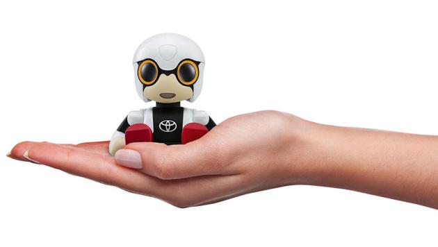 Kirobo Mini: Robo-Beifahrer für den Getränkehalter (Bild: Toyota)