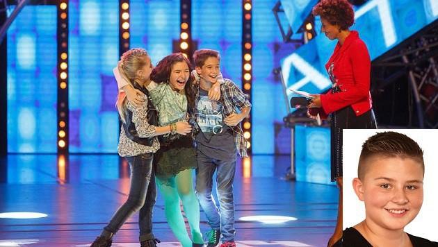 Markus Manzl (kleines Bild,12) ist im Halbfinale des Kiddy Contest. (Bild: Flo Wieser/Kiddy Contest)