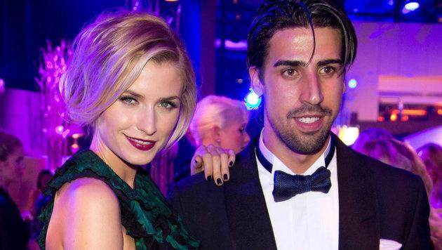 Auch Traumpaar Lena Gercke und Sami Khedira zog 2015 einen Schlussstrich unter seine Liebe. (Bild: APA/dpa/Jšörg Carstensen)