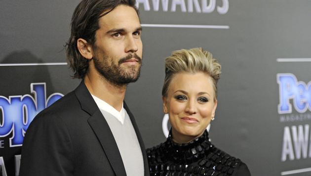 Kurz, aber nicht schmerzlos: Nach 21 Monaten reichten Kaley Cuoco & Ryan Sweeting die Scheidung ein. (Bild: Chris Pizzello/Invision/AP)