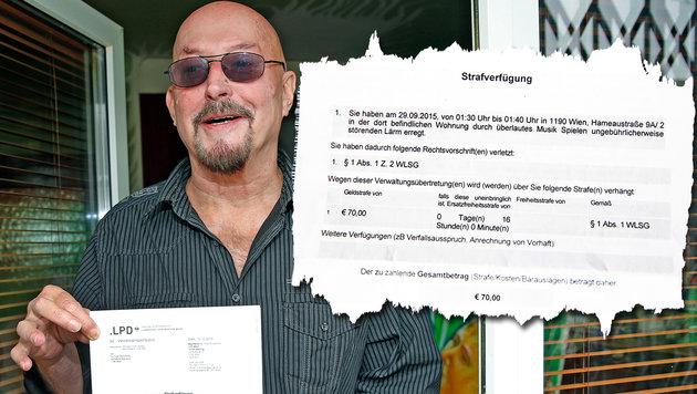 Nachts zehn Minuten Radio gespielt: 70 € Strafe (Bild: Reinhard Holl)