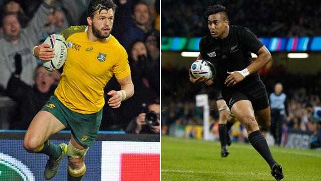 Neuseeland und Australien wollen Rugby-WM-Krone (Bild: APA/EPA/GERRY PENNY, AP)