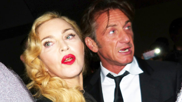 Madonna mit Sean Penn in New York (Bild: Splash)