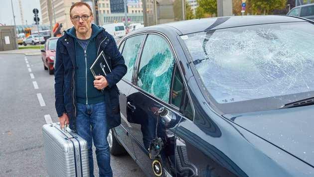 """Josef Hader beim Dreh von """"Wilde Maus"""" (Bild: Starpix/Alexander TUMA,)"""