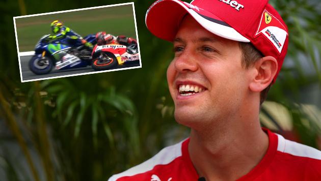 """Vettel: """"Rossi hat das absolut Richtige gemacht!"""" (Bild: AFP, youtube.com)"""