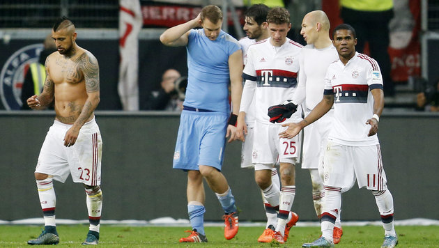 Video: Hier reißt Bayerns Wunder-Serie (Bild: AP)