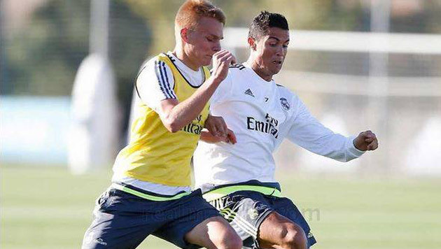 Lienhart: Eine Chance auf das Real-Madrid-Camp (Bild: Real Madrid)