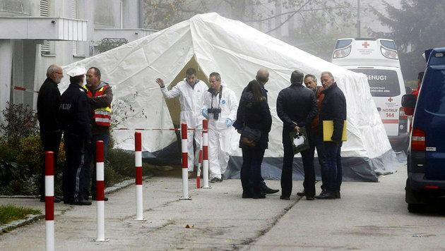 Klagenfurter (47) auf offener Straße erschossen (Bild: APA/GERT EGGENBERGER)