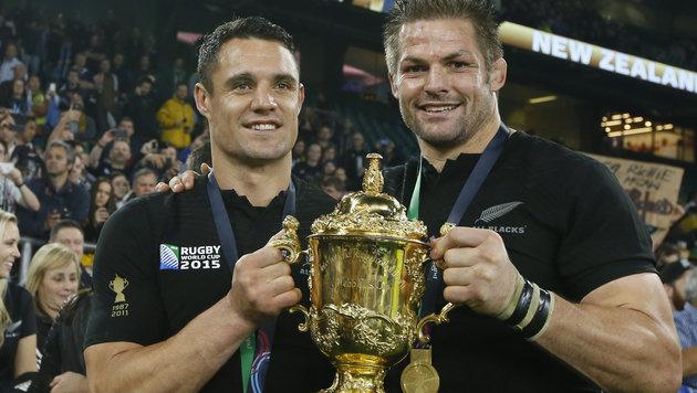 Neuseeland zum dritten Mal Rugby-Weltmeister (Bild: AP)