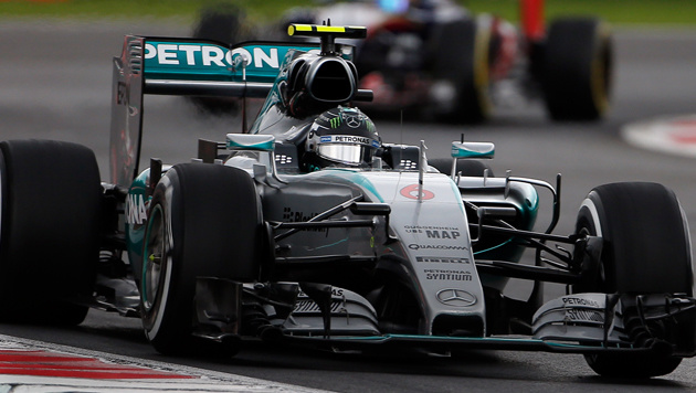 Rosberg holt Mexiko-Pole vor Hamilton und Vettel! (Bild: AP)