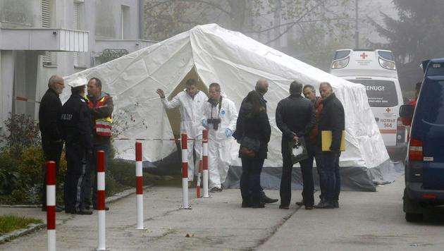 Taxler ermordet: Erste Spur führt nach Osteuropa (Bild: APA/GERT EGGENBERGER)