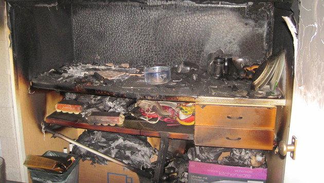 26-Jähriger bei Zimmerbrand qualvoll erstickt (Bild: BF Graz)
