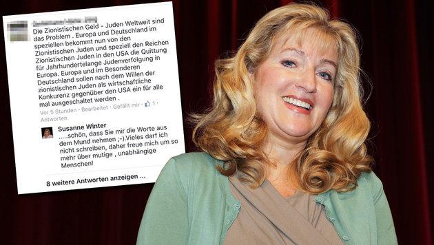 FP-Abgeordnete Winter sorgt einmal mehr für Wirbel (Bild: Jürgen Radspieler, facebook.com)