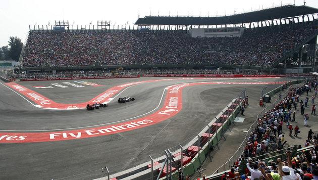 Rosberg siegt bei Mexiko-GP vor Hamilton! (Bild: AP)