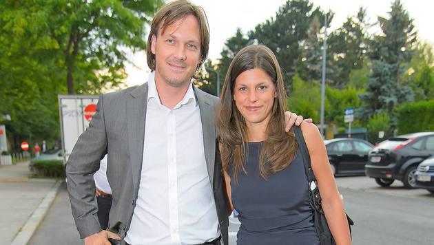 Laura Rudas mit ihrem Lebensgefährten Markus Wagner (Bild: Viennareport)