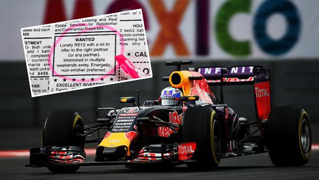 Red Bull sucht Motorenlieferant per Partneranzeige (Bild: twitter.com/redbullracing)