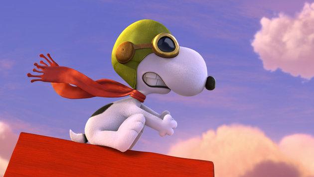 """Snoopy macht bald auch mit """"Die Peanuts - Der Film"""" die Kinos unsicher. (Bild: AP)"""