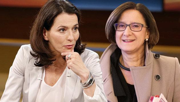 """Mikl-Leitner zu Gast bei """"Anne Will"""" (Bild: ARD, APA/GEORG HOCHMUTH)"""