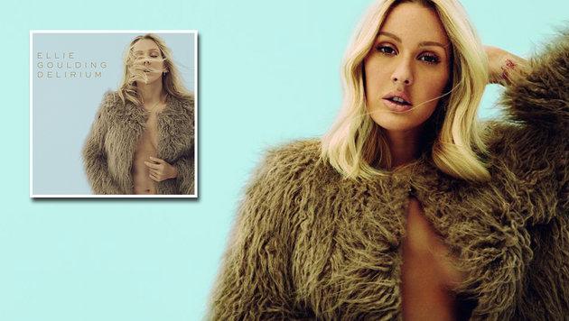 """Pop-Star Ellie Goulding ist nun im """"Delirium"""" (Bild: Universal Music)"""