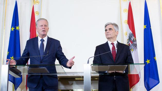 """Regierung sieht """"Asyl auf Zeit"""" als gutes """"Signal"""" (Bild: APA/GEORG HOCHMUTH)"""