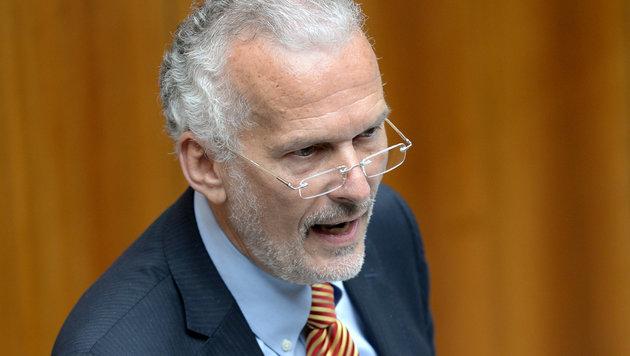 Josef Moser: Ex-Blauer nun türkiser Justizminister (Bild: APA/Roland Schlager)