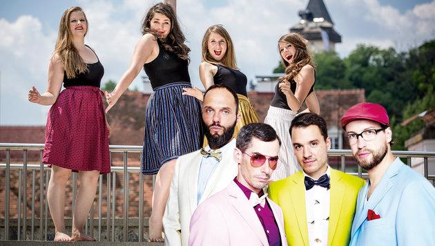 Voice Mania sorgt für A-Cappella-Feeling in Wien (Bild: Voice Mania)