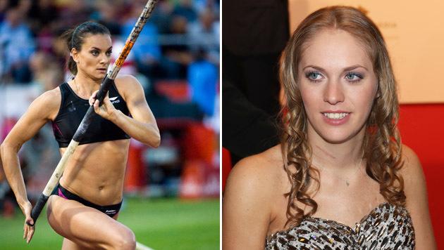 Weltrekordlerin Isinbajewa: Gold in Rio für Kira (Bild: GEPA)