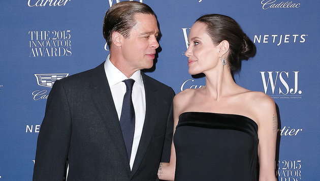 Angelina Jolie und Brad Pitt: Alles aus? (Bild: Viennareport)