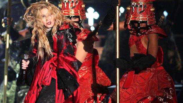 Autsch! Madonna ist jetzt statistisch uncool (Bild: AFP/Oliver Berg)