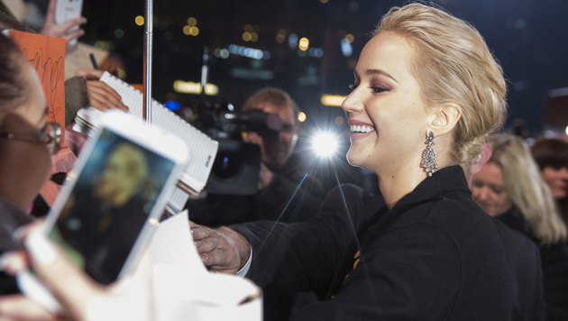 Jennifer Lawrence (Bild: AP)