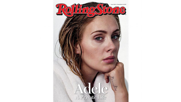"Adele am Cover des ""Rolling Stone"" (Bild: Viennareport)"