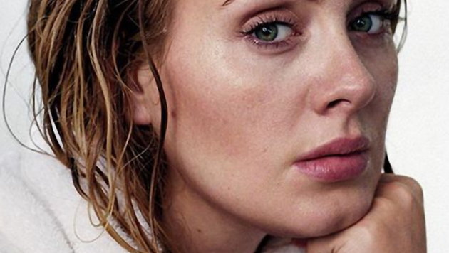 "Adele ohne Make-up am Cover des ""Rolling Stone""-Magazins. (Bild: Viennareport)"