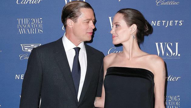 """Angelina Jolie: """"Plötzlich waren wir verheiratet"""" (Bild: Viennareport)"""