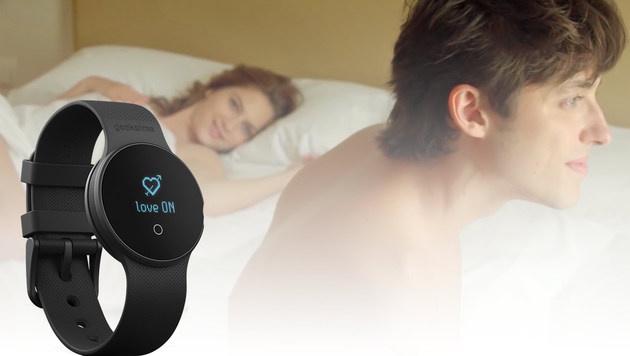 Geeksme: Spanische Smartwatch analysiert Sexleben (Bild: geeksme.com)