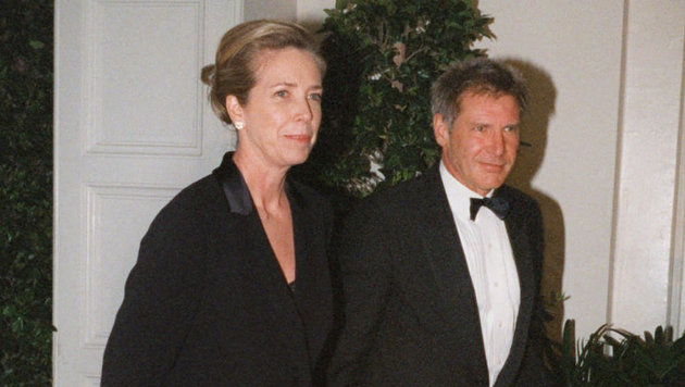 Melissa Mathison und Harrison Ford (Bild: AP)