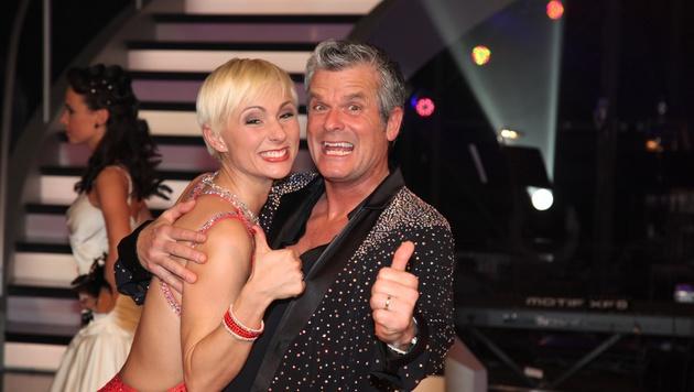 """Wolfram Pirchner bei der siebten Staffel """"Dancing Stars"""" (Bild: Viennareport)"""